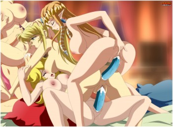 Zelda anf friend orgy