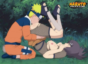 Naruto's Tongue Service For Anko