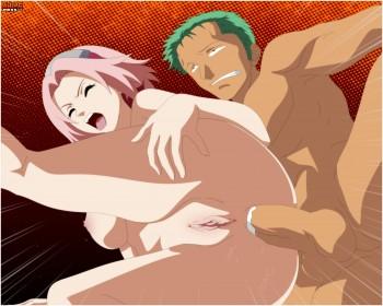 Roronos Zoro and Sakura Haruno - bitch lost