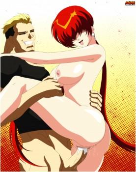 Yamazaki and Shermie - orochi fuck