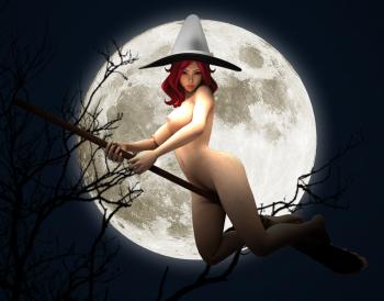 Halloween Witch - Battlehentai.com