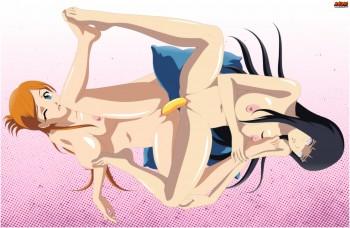 Manhattan - Orihime Inoue (Timeskip) and Hinata Hyuga (The Last)