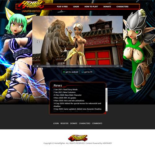 Hentai Fighter online game